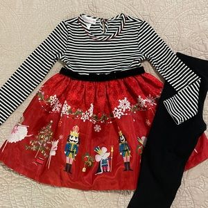 Bonnie Jean - Nutcracker Holiday Outfit